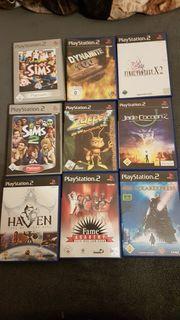 Diverse PS2 Spiele