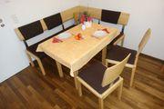 Essecke Eckbank Tisch 2 Stühle