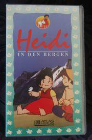 Heidi In den Bergen VHS
