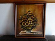 Sonnenblumen - Ölgemälde- gegen Gebot abzug