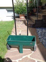 Streuwagen für Rasensamen Rasendünger
