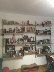 Wand Bücherregal zu verkaufen
