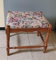 Gut erhaltener alter Sitzhocker 50x38x45cm