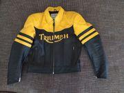 Triumph Leder Motorradjacke