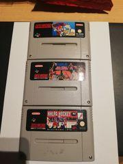 3 super Nintendo spiele