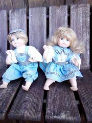 Mehrere Puppen mit Porzellan teilen