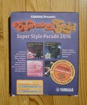 Yamaha Tyros5 Premium Packs Entertainer2016