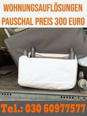 Haushaltsauflösung Berlin zum günstigsten Pauschalpreis