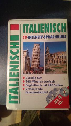 Schulungen, Kurse, gewerblich - Italienisch Sprachkurs CD Box zu