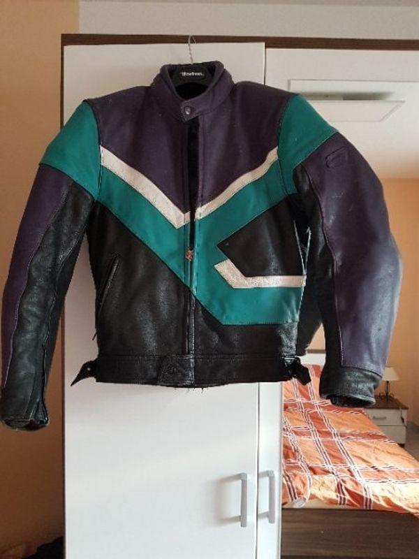 Motorradjacke echt Leder Herren