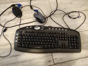 Tastatur und Funkmaus