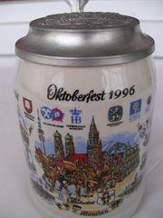 Bierkrug Oktoberfest München 1996 mit