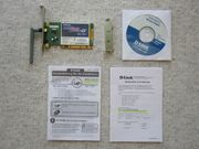 D-Link Wireless PCI Adapter DWL-G520