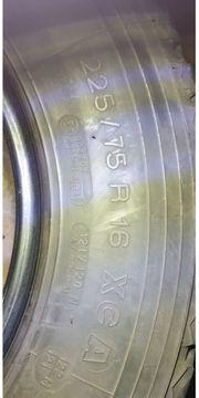 gebrauchte Sommerrräder225 75 R16C
