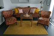 Sofa Couch Garnitur Retro Vintage