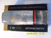 DFB Julian Draxler -Sammelglas -