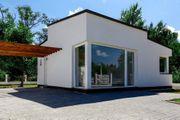 Ungarn Flachdach - Bungalow Neubau auf