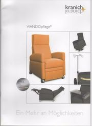 Komfort-Pfelgesessel VIANDO von Kranich Konzept
