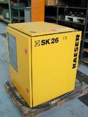 Käser SK26 - Schraubenkompressor incl Drucklufttrockner