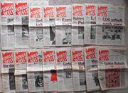 alte Zeitungen Junge Welt von