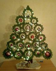Weihnachtsbaum aus Korken