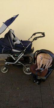 Babyschale mit Adapter zum Sportwagen