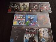 10 x PS 3 Spiele