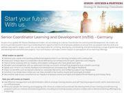 Senior Coordinator Learning and Development