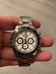 Rolex Automatik Daytona Uhr Silber