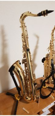Tenor Tenorsaxophon Saxophon Selmer Super