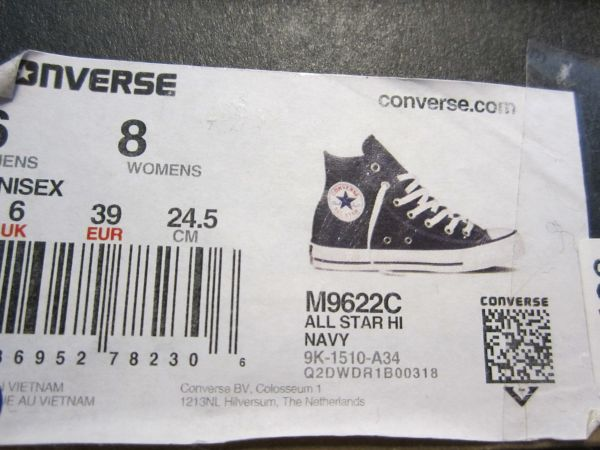 CONVERSE Chucks All Star high Gr. 39 Navy in München
