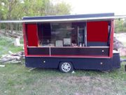 Verkaufsanhänger Verkaufswagen Imbissanhänger Street Food