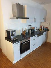 Einbauküche in Weiß Grau