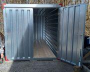 Lagerrraum Stauraum Materialcontainer 4m