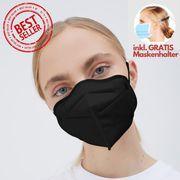 6-fach zertifizierte FFP2-Masken inkl Maskenhalter