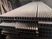 WPC Terrassen-Dielen Kunststoff Bretter Boden Belag