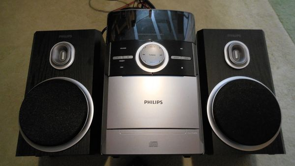 Kompaktanlage Philips CD MC Radio