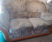 2-Sitzer Couch gebraucht gut erhalten