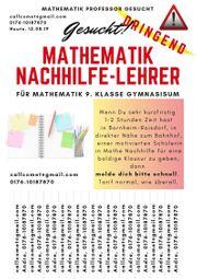 Nachhilfe in Mathe gesucht