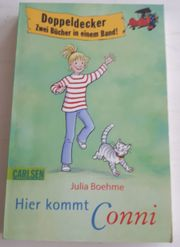 Kinderbuch Doppelband Hier kommt Conni