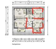 Zwei möblierte Zimmer mit Dachterrasse