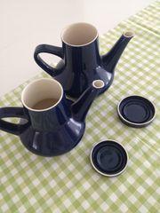 Melitta Stockholm Kaffeekanne blau