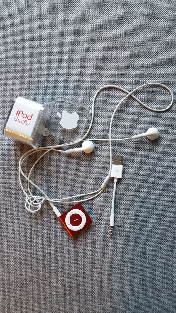 Apple iPod schuffle rot 2GB