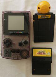 Game Boy Color transparent