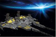 Fototapete Raumschiff 210 x 140
