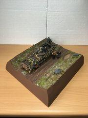 1 35 Diorama Befehlsausgabe