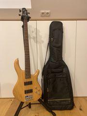 Cort Action-DLX E-Bass inkl Tasche