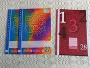 Schulhefte Lineaturen 27 28 liniert