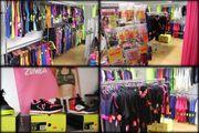 Ladeneinrichtung für Mode und Textilien