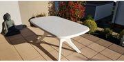Kettler Gartentisch weiß 160 90